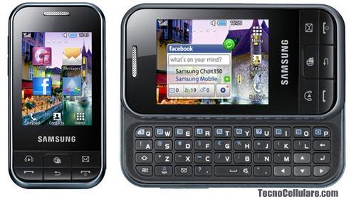 Samsung gt c3500 cht 350 economico cellulare touchscreen con tastiera