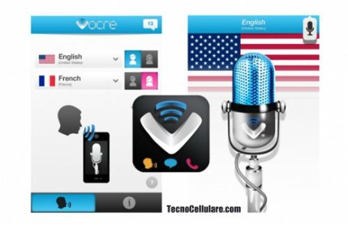 Vocre per ios primo traduttore simultaneo per iphone for Traduttore apple