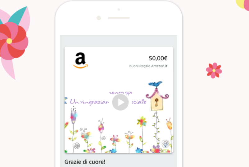 Guida semplice Buono Regalo Amazon digitale: ecco come personalizzarlo