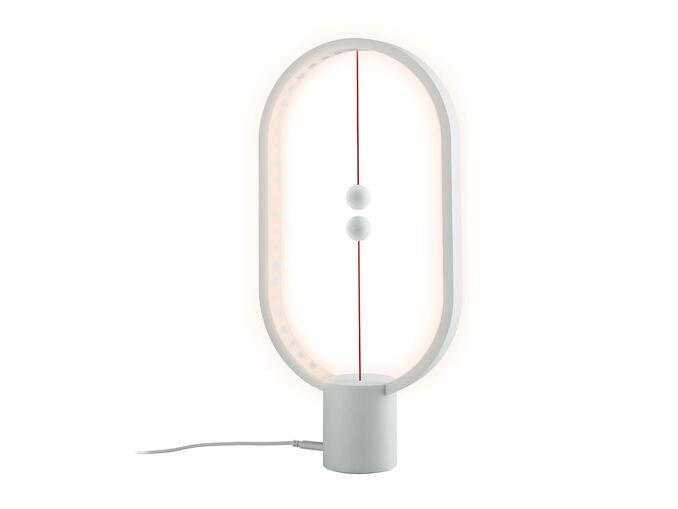 Economica lampada a LED da tavolo con sfere magnetiche LivernoLux da Lidl: in offerta a 19 euro