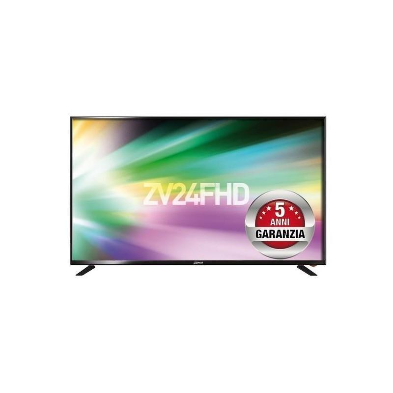 Prezzo economico TV LED Zephir ZV24FHD in offerta: da Euronics a 99 euro