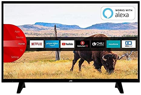 TV LED smart JVC LT-50VUQ300I da Esselunga: in offerta a 279 euro