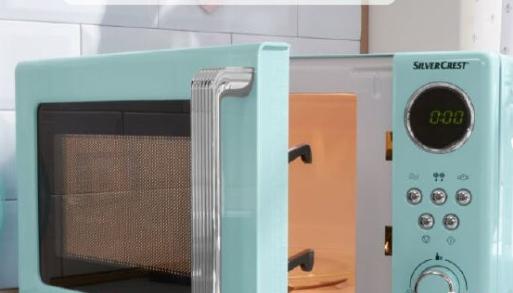 Economico Forno a microonde SilverCrest da Lidl: in promozione a 59 euro