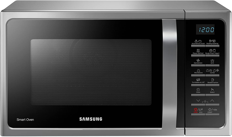 Forno a microonde Samsung Silver MC28H5015CS in offerta: da Unieuro al prezzo di 149 euro!