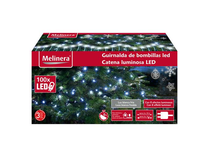 Catena luminosa 100 LED Melinera in offerta: da Lidl al prezzo di soli 8 euro!