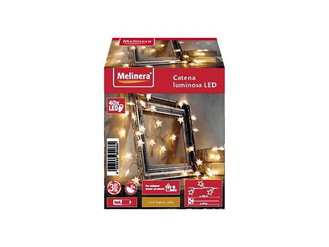 Catena luminosa decorativa Melinera da Lidl: in offerta al prezzo di appena 7 euro!