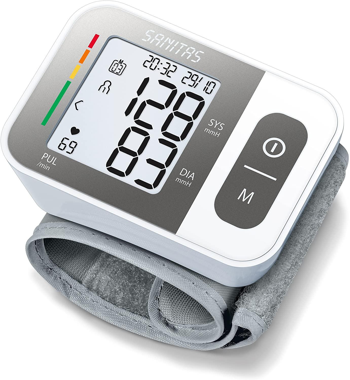 Misuratore di pressione da polso Beurer Sanitas SBC 15 da Trony: in promozione al prezzo di 19 euro!
