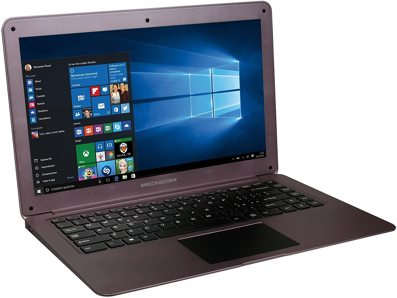 Notebook economico Mediacom SmartBook M-SB14S in offerta: da IperCoop al prezzo di 199 euro