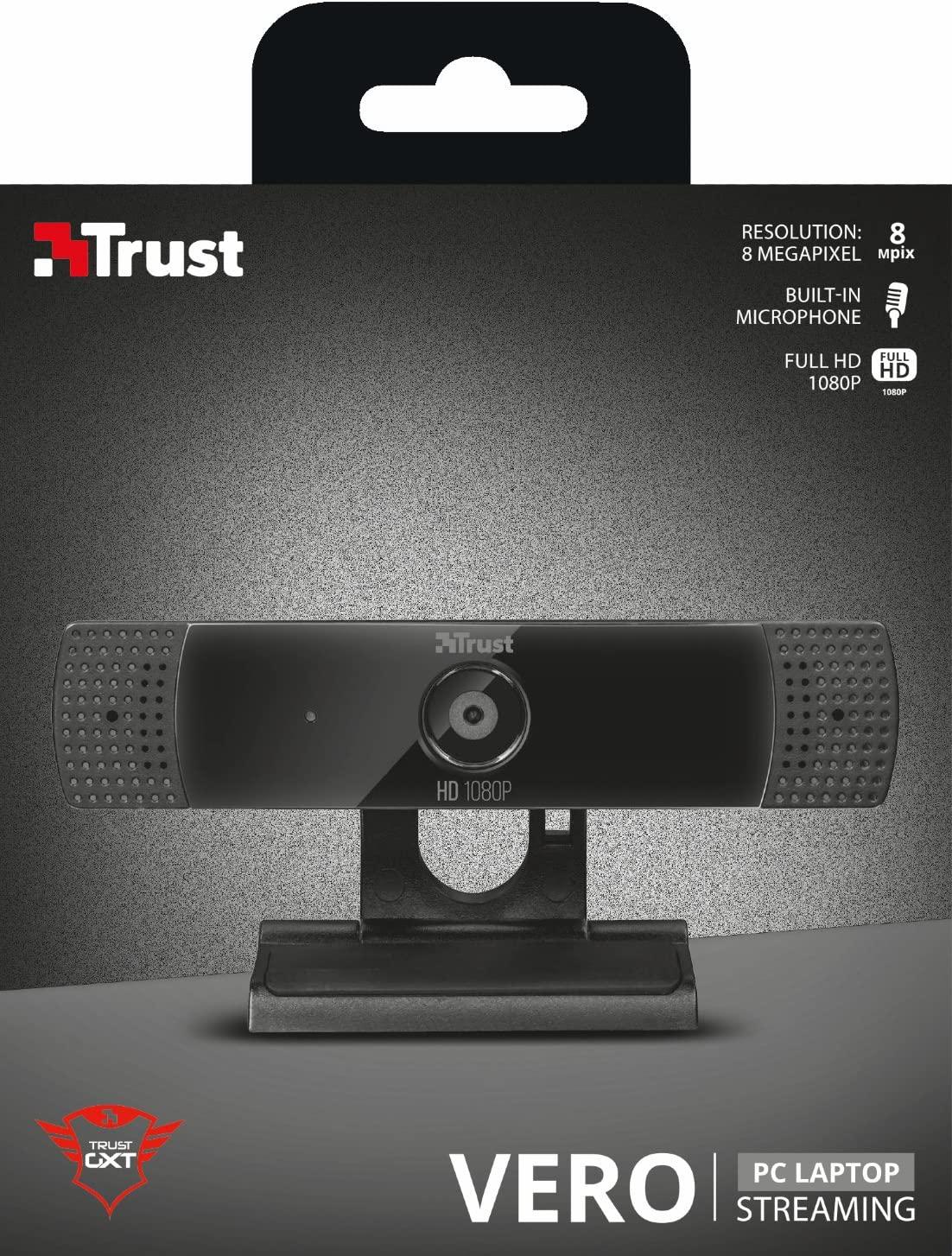 Webcam ad alta definizione Trust GTX 1160 Vero in offerta: da MediaWorld al prezzo di 54 euro!
